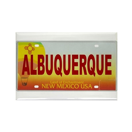 New Mexico License Plate Magnet