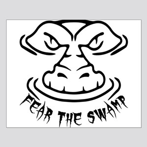 Fear the Swamp Gator Small Poster