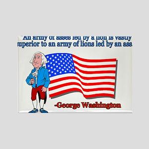 Great George Washington Patriotic Quote Rectangle