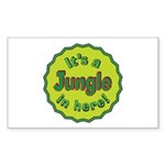 It's a Jungle in Here Sticker (Rectangle 10 pk)