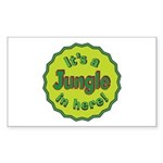 It's a Jungle in Here Sticker (Rectangle)