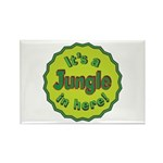 It's a Jungle in Here Rectangle Magnet (10 pack)