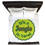 It's a Jungle in Here King Duvet