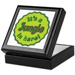 It's a Jungle in Here Keepsake Box