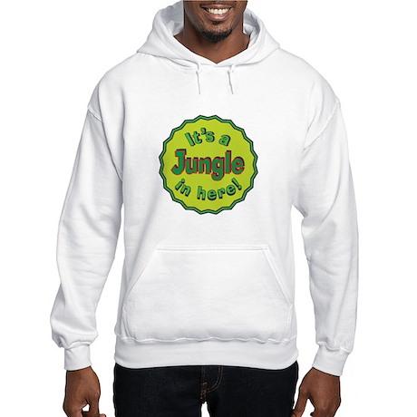 It's a Jungle in Here Hooded Sweatshirt