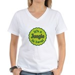 It's a Jungle in Here Women's V-Neck T-Shirt