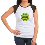 It's a Jungle in Here Women's Cap Sleeve T-Shirt
