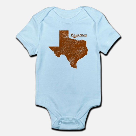 Courtney, Texas (Search Any City!) Infant Bodysuit