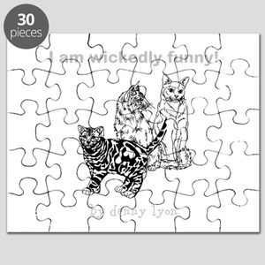 Droll Cats Puzzle