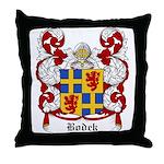 Bodek Coat of Arms Throw Pillow