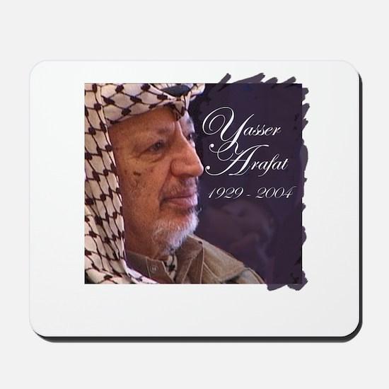 Yasser Arafat Mousepad