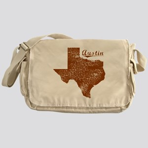 Austin, Texas (Search Any City!) Messenger Bag