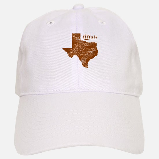 Altair, Texas (Search Any City!) Baseball Baseball Cap