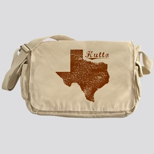 Hutto, Texas (Search Any City!) Messenger Bag