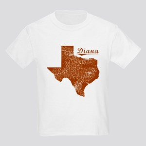 Diana, Texas (Search Any City!) Kids Light T-Shirt