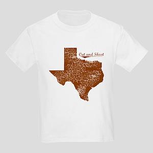 Cut and Shoot, Texas. Vintage Kids Light T-Shirt