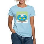 Fishbowl Pickup Lines Cartoon Women's Light T-Shir