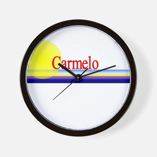 Carmelo Wall Clock