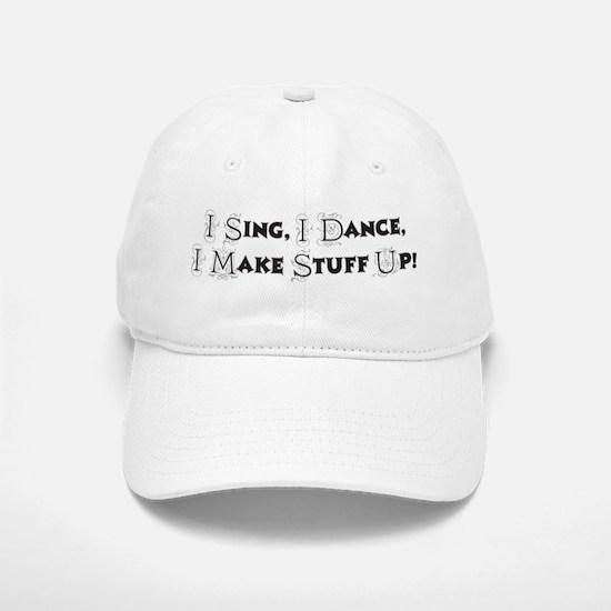 Song and Dance Baseball Baseball Cap