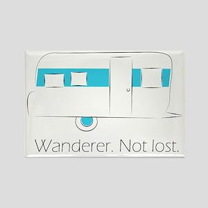 Wanderer. Not lost. Rectangle Magnet