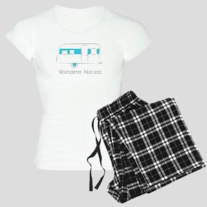Wanderer. Not lost. Women's Light Pajamas