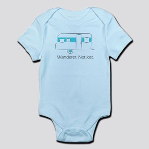 Wanderer. Not lost. Infant Bodysuit