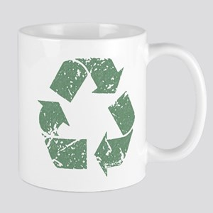 Distressed Recycle Mug