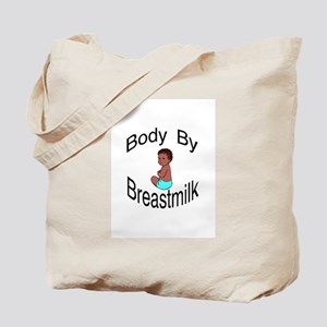 Mouse Made Body by Breastmilk darkskin Tote Bag