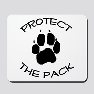 Protect the Pack! Mousepad