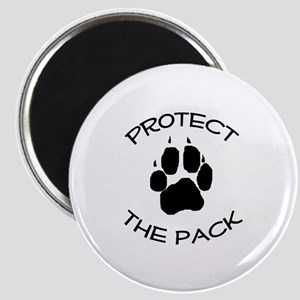 Protect the Pack! Magnet