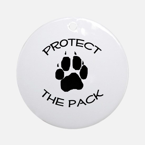 Protect the Pack! Ornament (Round)
