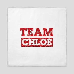 Team Chloe Queen Duvet