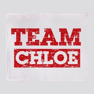 Team Chloe Throw Blanket