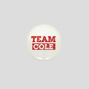 Team Cole Mini Button