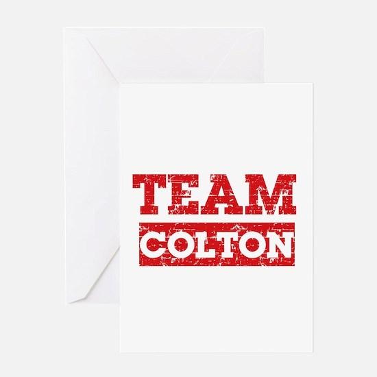 Team Colton Greeting Card