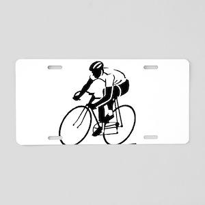 Bike Rights 4 Aluminum License Plate