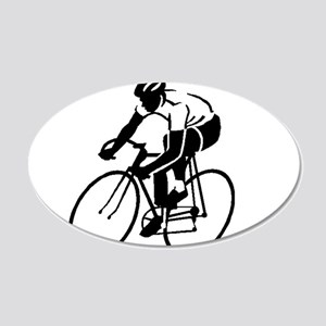 Bike Rights 4 20x12 Oval Wall Decal