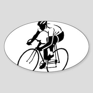 Bike Rights 4 Sticker (Oval)