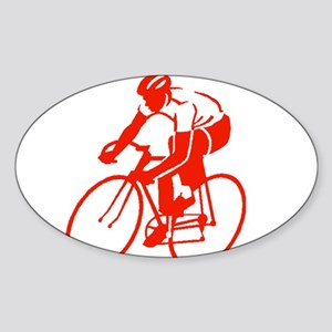 Bike Rights 3 Sticker (Oval)