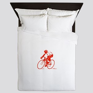 Bike Rights 3 Queen Duvet