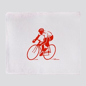 Bike Rights 3 Throw Blanket