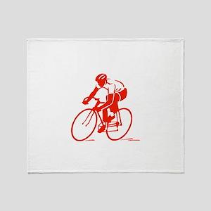 Bike Rights 3 Throw Blanket