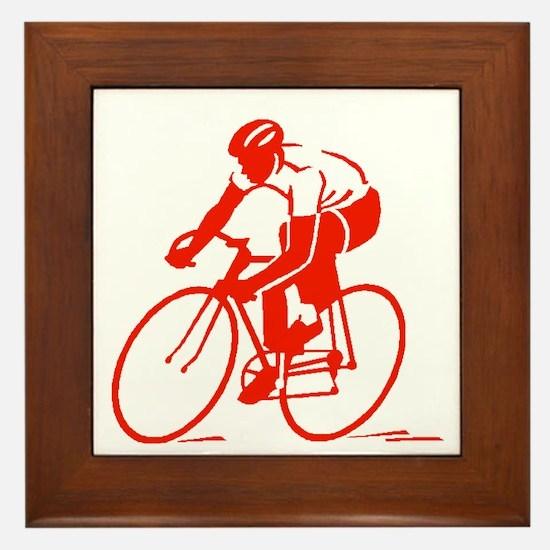 Bike Rights 3 Framed Tile
