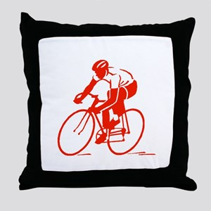 Bike Rights 3 Throw Pillow