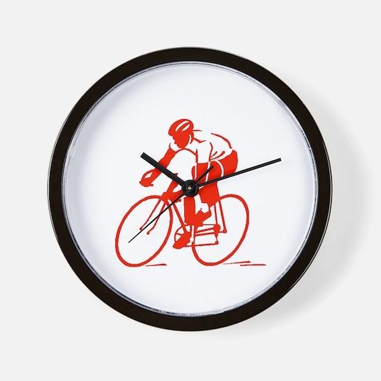 Bike Rights 3 Wall Clock