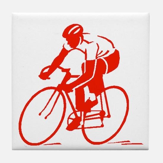 Bike Rights 3 Tile Coaster