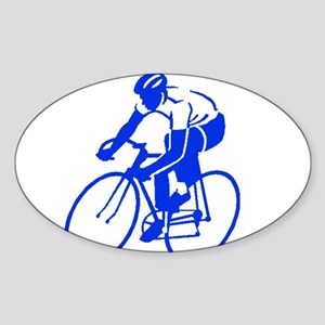 Bike Rights 1 Sticker (Oval)