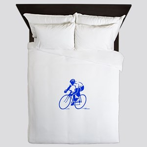 Bike Rights 1 Queen Duvet