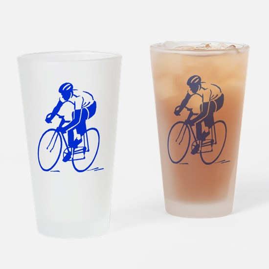 Bike Rights 1 Drinking Glass