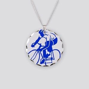 Bike Rights 1 Necklace Circle Charm